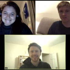 Ana Rodrigues, Calum Ryan, Neil Mather at HWC London Online on 25 March 2020
